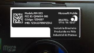 Lumia 830 Nokia Anatel