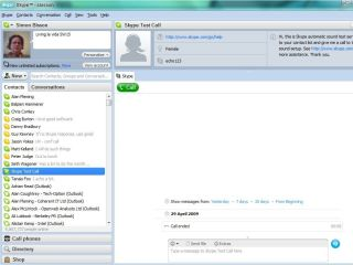 Skype on Windows 7