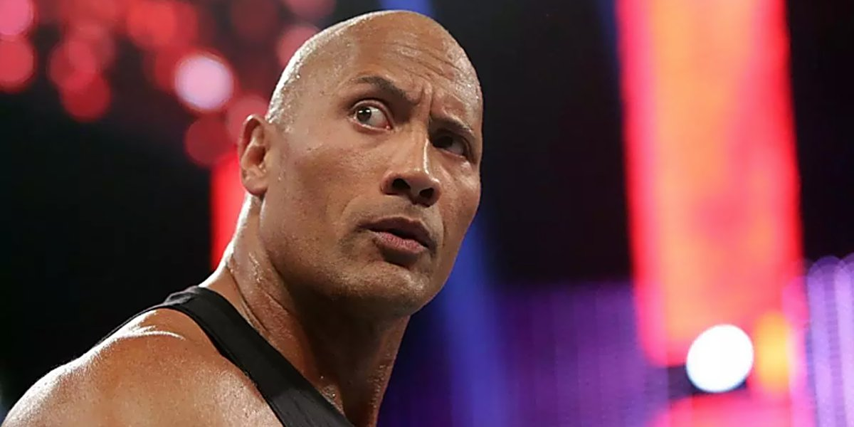 The Rock on Raw