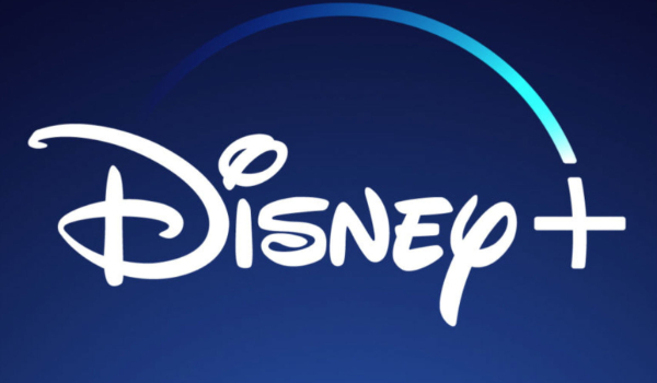 Disney+ logo in soothing blues and whites
