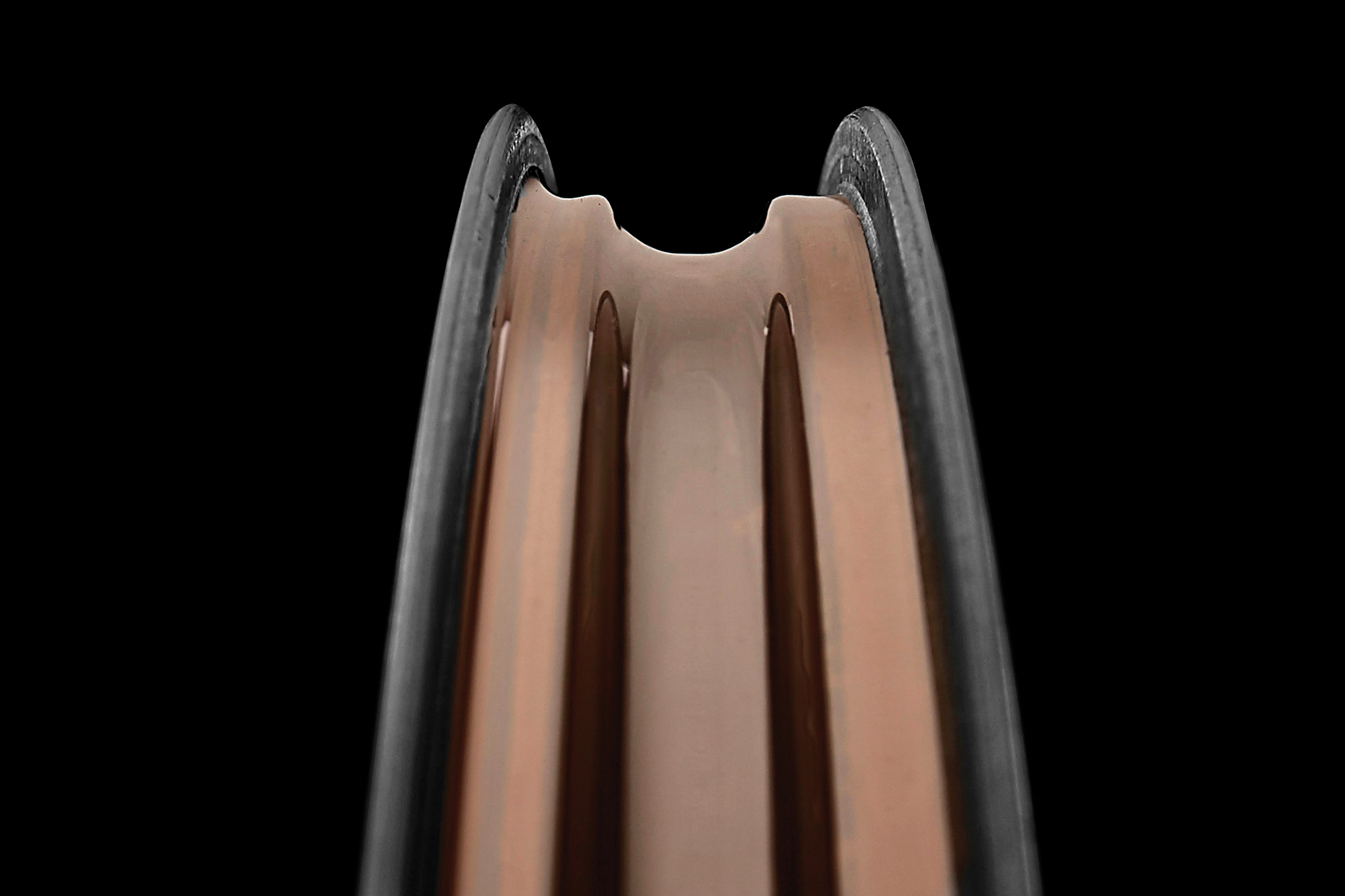 Internal Tire Channel on the CADEX 65mm Road Wheelsystem