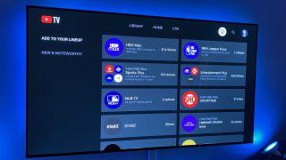 Premium add-ons on YouTube TV
