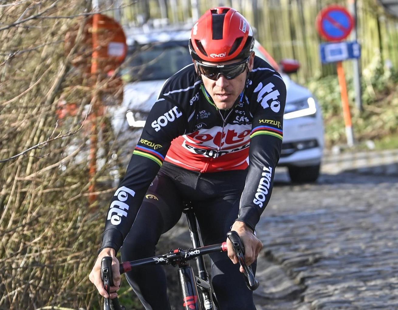 Omloop Het Nieuwsblad 2021 -75h Edition - Training - Flanders Classics - 25/02/2021 - Philippe Gilbert (BEL - Lotto Soudal) - photo Nico Vereecken/PN/BettiniPhoto©2021