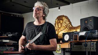 Gong guitarist Steve Hillage
