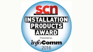 2016 SCN InfoComm Installation Product Award Winners Announced