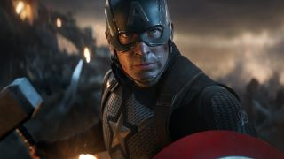 Chris Evans as Captain America in Avengers: Endgame