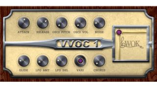 VVOC-1's interface looks simple and - of course - suitably vintage.