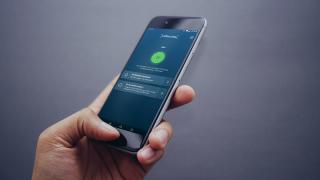 Smittestop-app på mobil