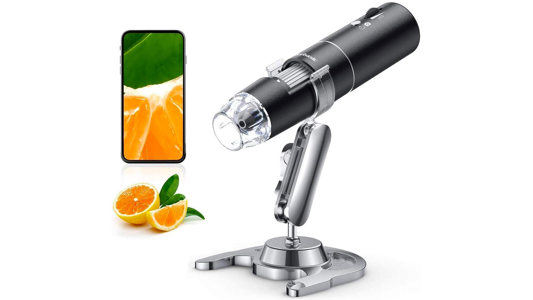 SkyBasic wireless digital microscope for kids.