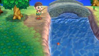 Animal Crossing New Leaf Island Fishing Pole