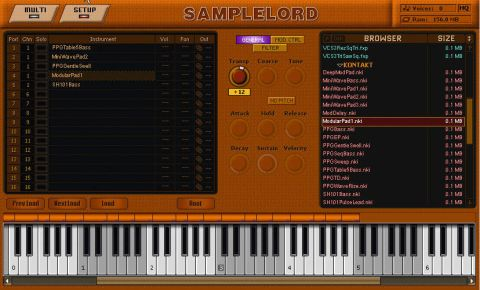 SampleLord is as basic as they come.