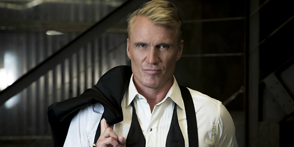 dolph lundgren as King Nereus in aquaman