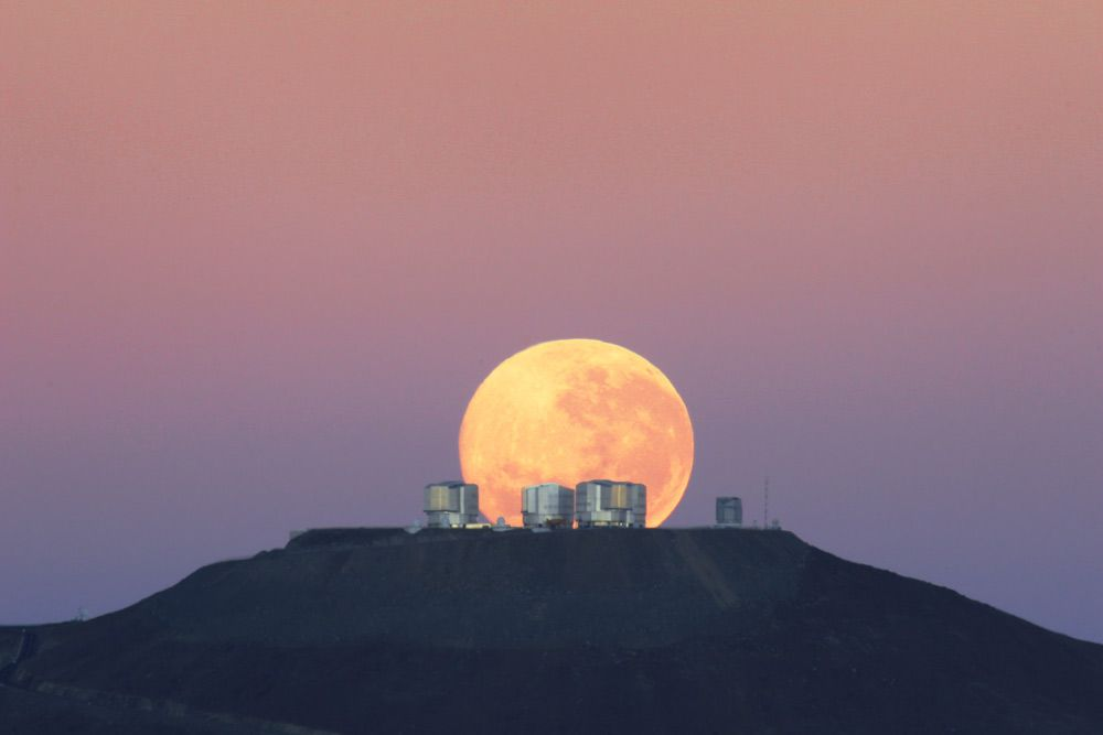 The Paschal full moon of 2021 rises tonight to make way for Easter