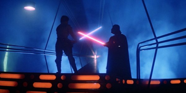 Star wars luke vs vader empire strikes back