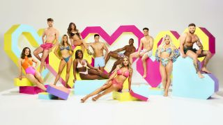 The Love Island Reunion - picture shows the first lot of islanders from Love Island 2021