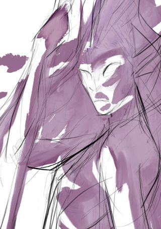 Make your digital art look like a watercolour in 3 easy steps