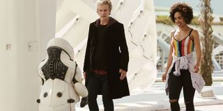 Doctor Who The Doctor And Bill Smile