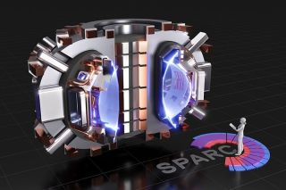 image of nuclear fusion reactor SPARC