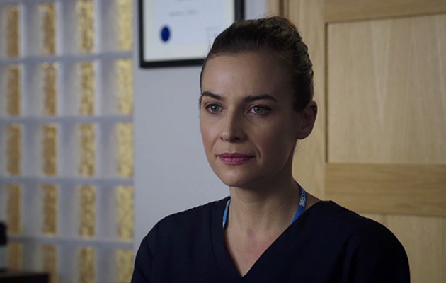 Holby City, Zosia Self, grab