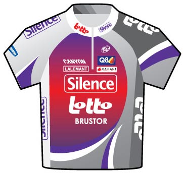 Silence Lotto Tour de France 2009 jersey