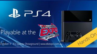 PS4 playable at EB Games Expo