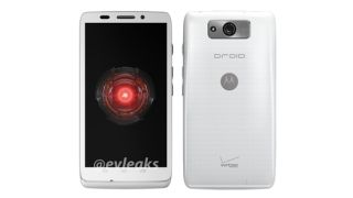 white Motorola Droid Ultra
