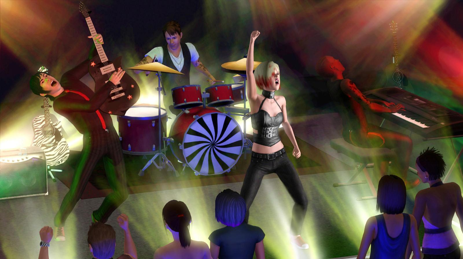 EXCLUSIVE: How to build a band in The Sims 3: Late Night