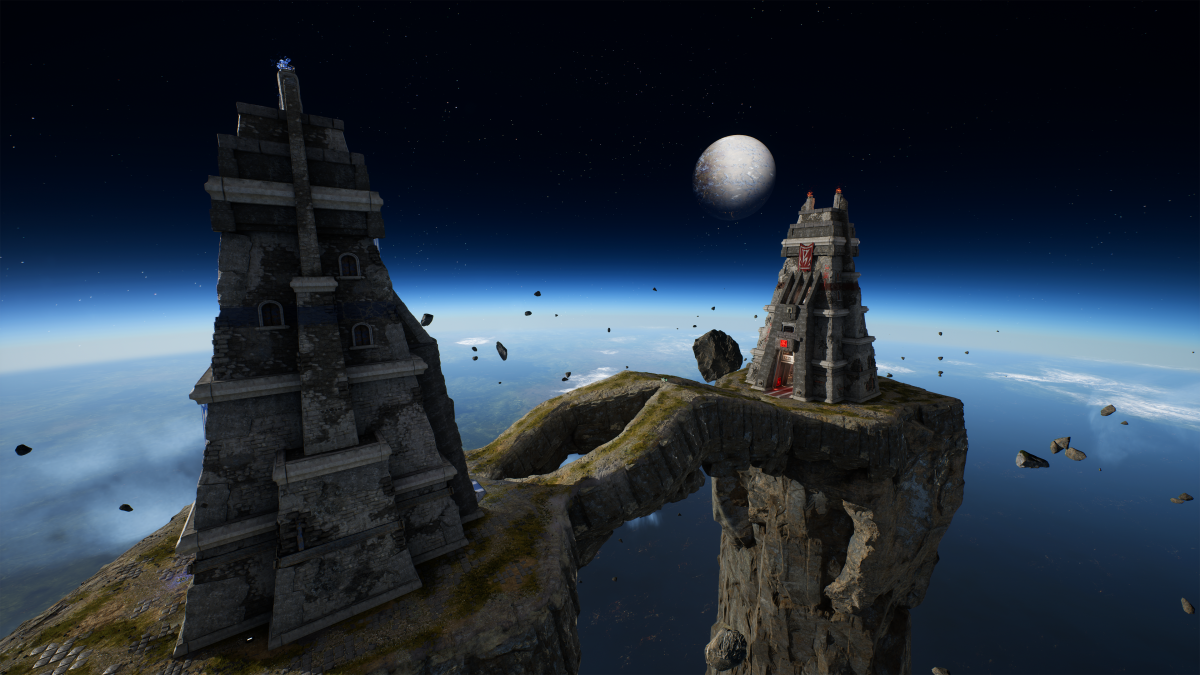 Classic CTF map Facing Worlds is reborn in Unreal ...