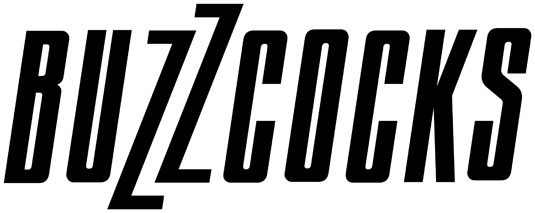 35 beautiful band logo designs - The Buzzcocks