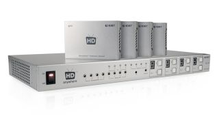 HDAnywhere s Multiroom is a kit that allows you to send signals via networking cable to multiple HDMI sources