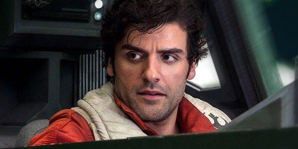 Oscar Isaac in The Last Jedi