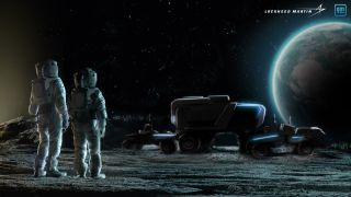 Lockheed Martin and GM are working together on a crewed, unpressurized moon rover that the companies hope will be used by NASA's Artemis program.