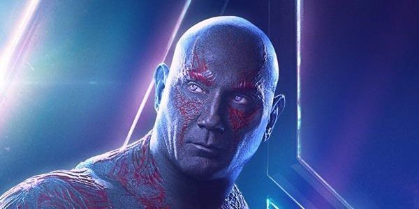 Drax's Infinity War poster