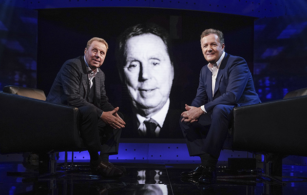 Harry Redknapp and Piers Morgan