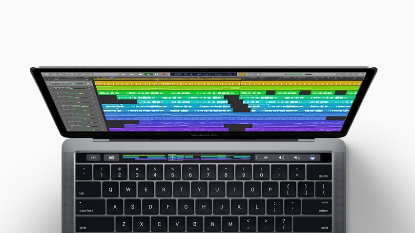 Does Logic Pro X 10 3 make the MacBook Pro Touch Bar useful