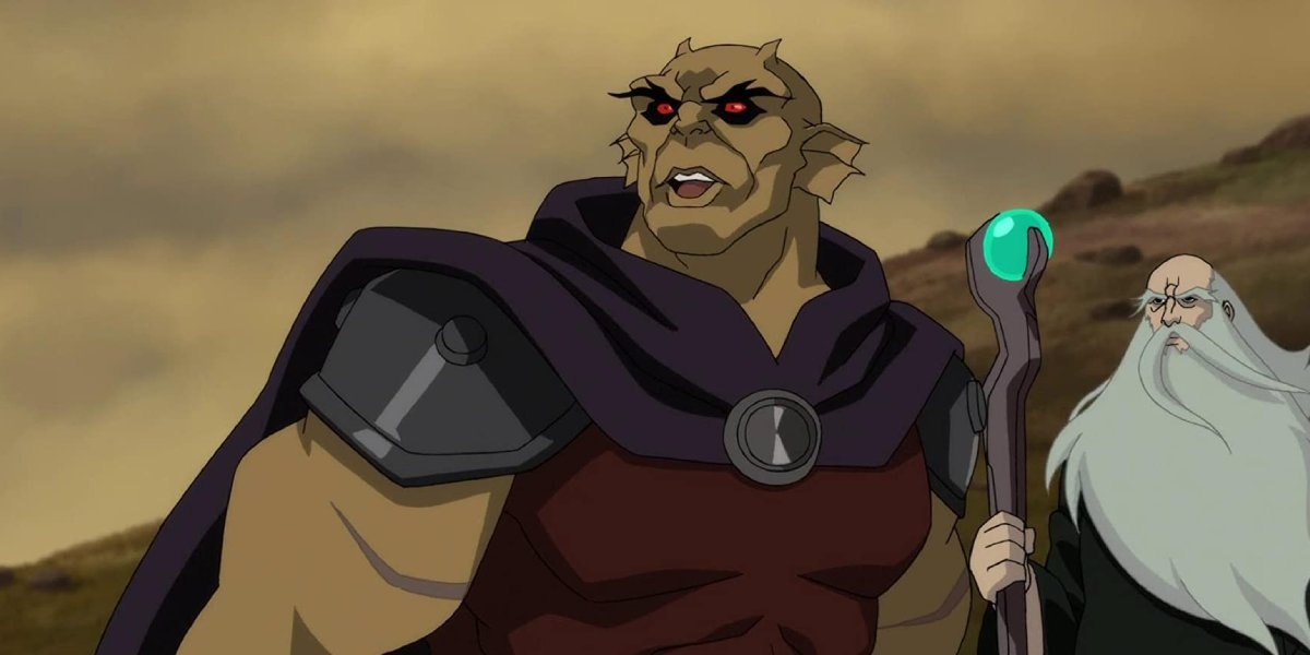 Ray Chase as Jason Blood as Etrigan in Justice League Dark