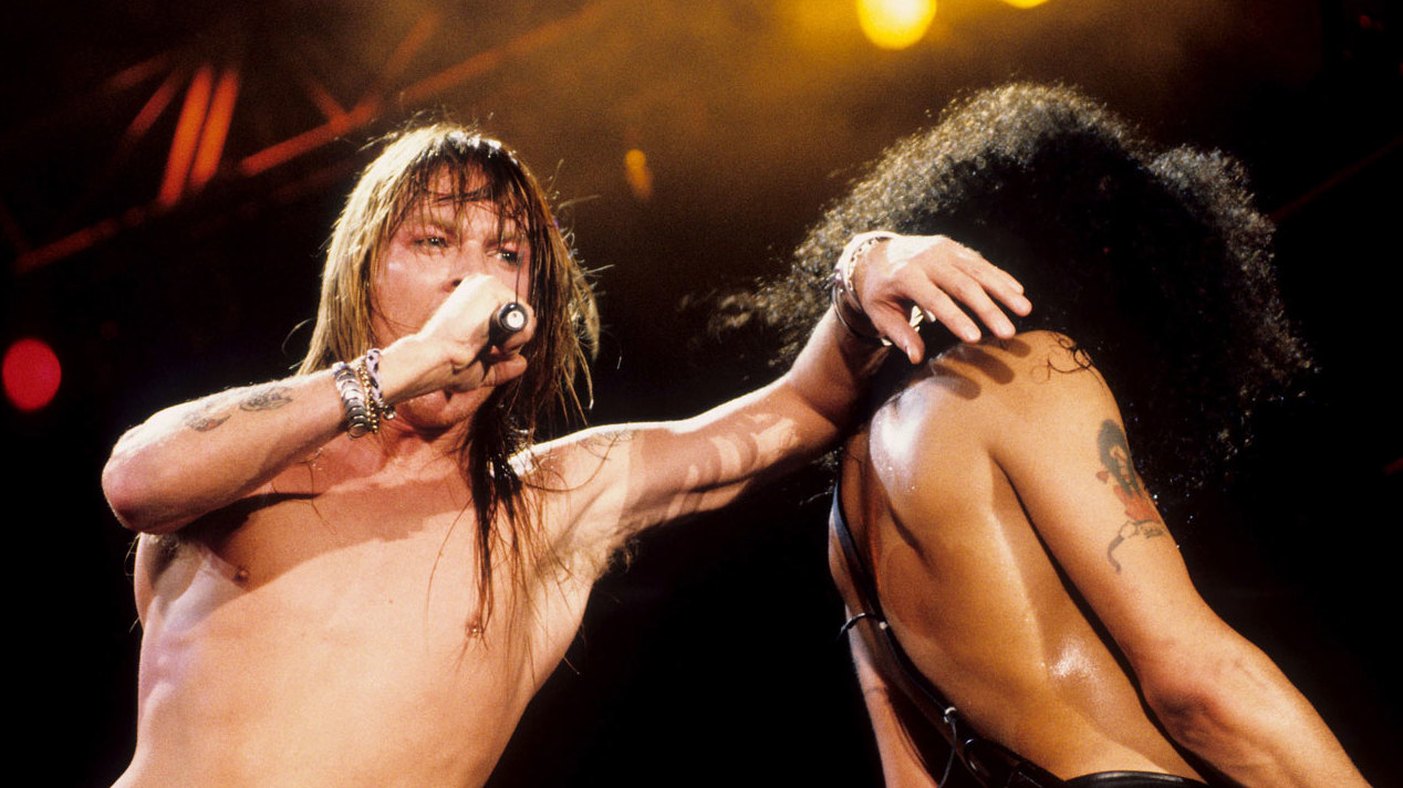 Andy Adler Nude the chaotic, crazed story of guns n' roses' use your