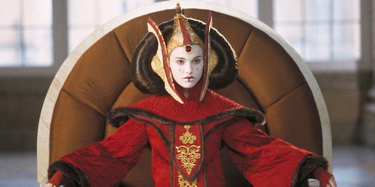 Natalie Portman in Star Wars: The Phantom Menace.