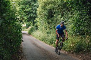 Bike rider lose weight