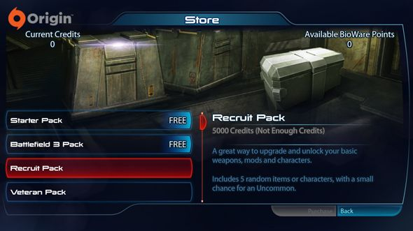 Some Mass Effect 3 multiplayer players losing multiplayer items