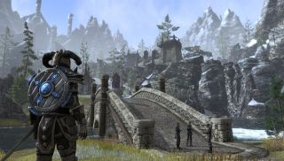 Here are 20 leaky minutes of Elder Scrolls Online footage