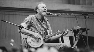 The father of American folk has passed away in New York