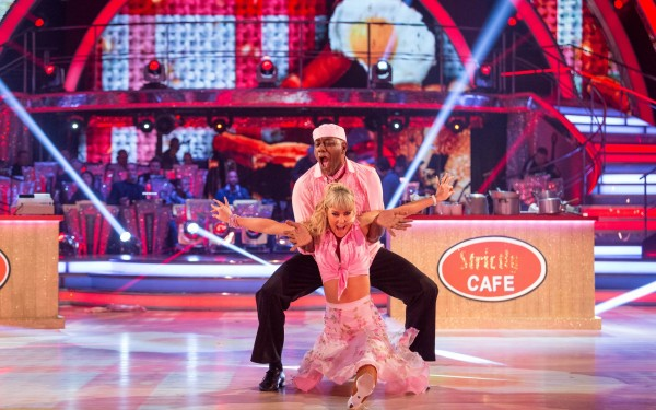 Strictly Come Dancing: Ainsley Harriott and Natalie Lowe