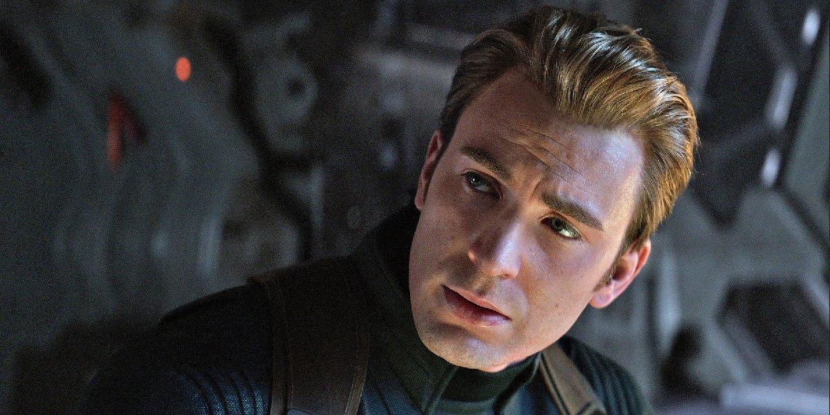Chris Evans as Steve Rogers/Captain America in Avengers: Endgame.
