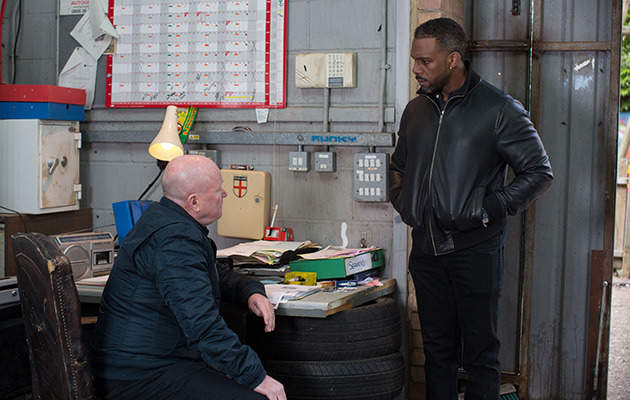 EastEnders Vincent Hubbard Phil Mitchell