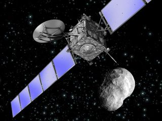 Comet-Chasing Spacecraft to Fly By Asteroid