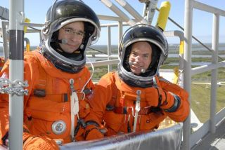Mission Atlantis: Shuttle Commander and Pilot Prepare to Fly
