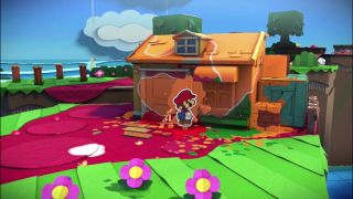 Paper Mario Color Splash Has Been Around 30 Minutes And People