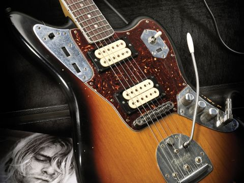 fender kurt cobain jaguar review musicradar. Black Bedroom Furniture Sets. Home Design Ideas