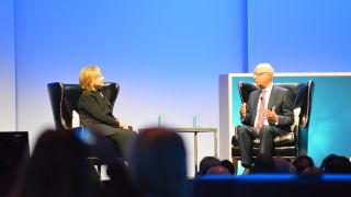 HIllary Clinton at Dreamforce 2014